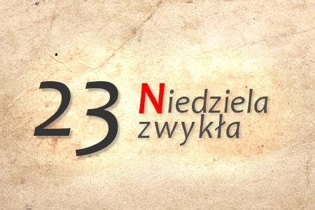 23 Niedziela Zwykła w Polskiej Parafii w Londynie
