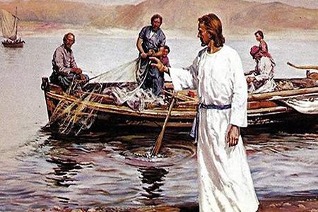 3 Niedziela Wielkanocna Zmartwychwstaly nad Jeziorem Tyberiadzkim - Rok C