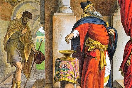 30 Niedziela zwykła - Rok C - Faryzeusz i Celnik w światyni
