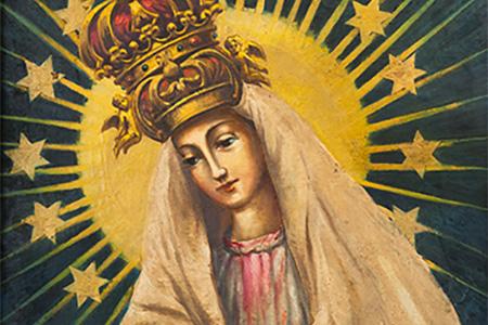 33 Niedziela Zwykła - Rok B - Obraz Matki Bożej Miłosierdzia