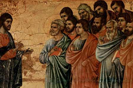 6 Niedziela Wielkanocna - Jezus i Apostołowie - Polska Parafia Londyn - Rok A - Wpis