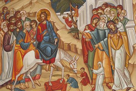 6 Niedziela Wielkiego Postu - Rok B - Król sprawiedliwy i zwycięski