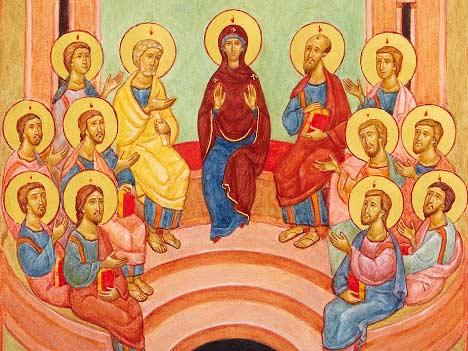 7 Niedziela Wielkanocna - Maryja i apostołowie - Polska Parafia Londyn - Rok A