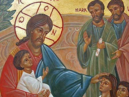 Jesus and child - Polska Parafia w Londynie