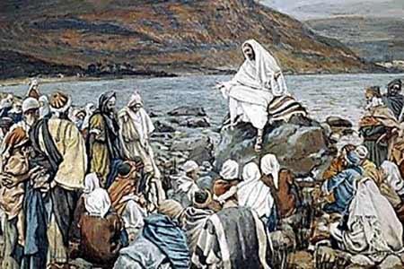 Jezus naucza tłumy nad jeziorem - Polska Parafia Londyn UK