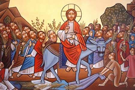 Wjazd Jezusa do Jerozolimy - Polska Parafia Londyn
