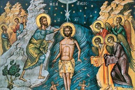 Niedziela - Świeto Chrztu Pańskiego