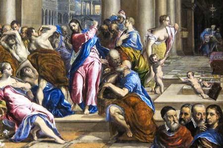 Jezus oczyszcza świątynie - Polska Parafia Londyn UK