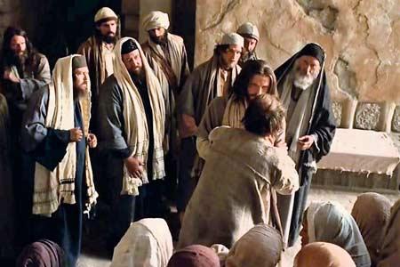 Jezus wyrzuca złego ducha - Polska Parafia w Londynie