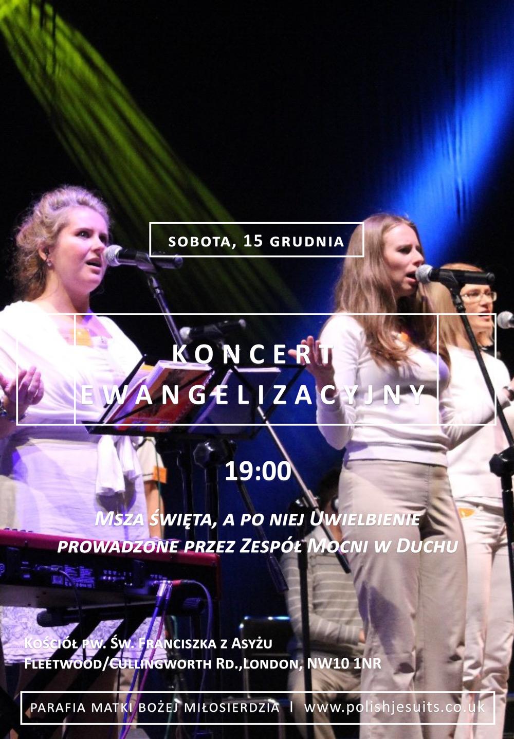 Koncert Ewangelizacyjny - 12.2018