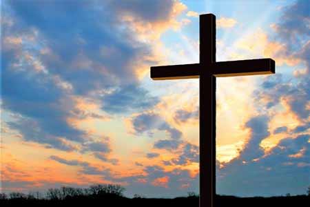 Krzyż na tle nieba - Polska Paafia w Londynie