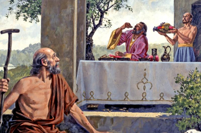 Bogacz i ubogi Łazarz - 26 Niedziela Zwykła, Rok C