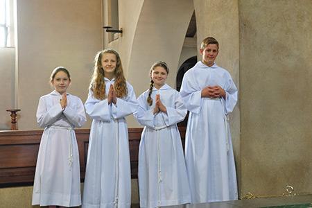 Ministranci - Grupy Parafialne