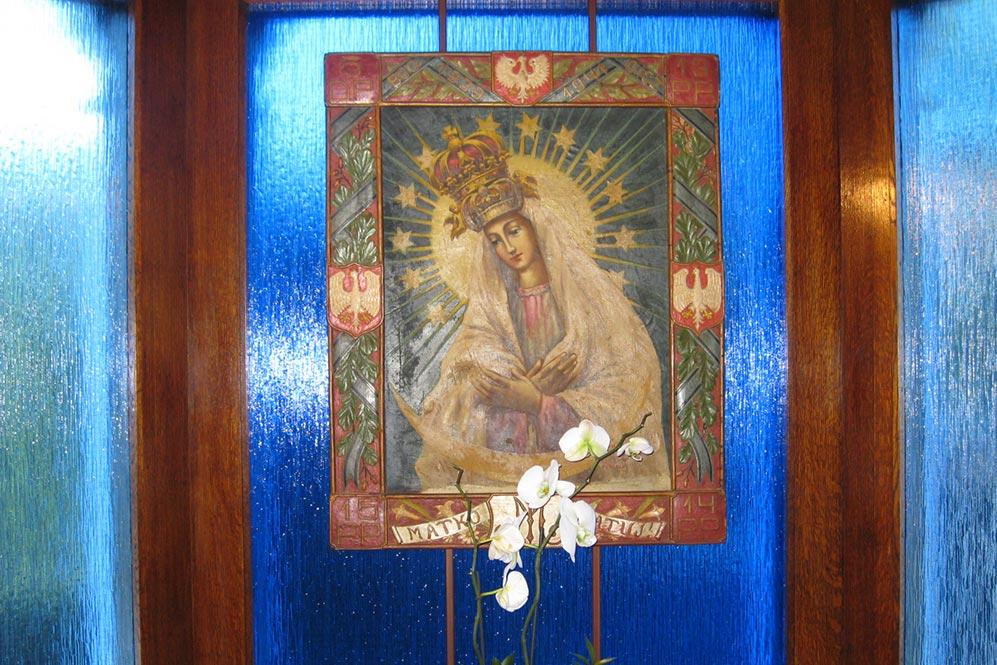 Obraz Matki Bożej Ostrobramskiej - Miłosierdzia