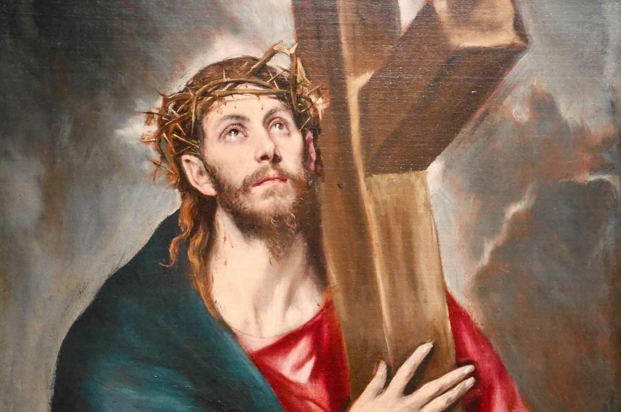Wielki Tydzień i Wielkanoc - Rok A - Jezus niosący krzyż